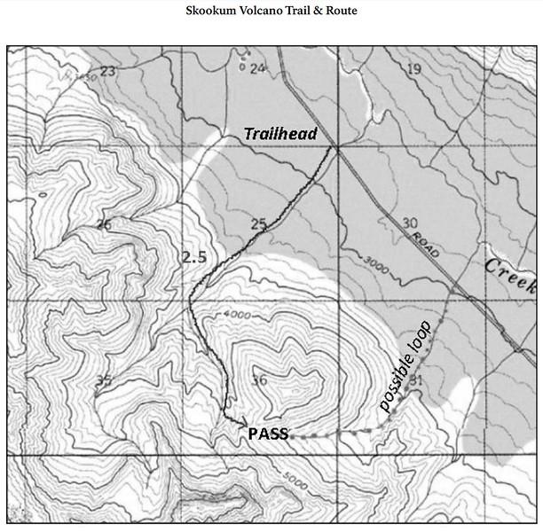 Wrangell-St. Elias National Park and Preserve (Nabesna Area - Skookum Volcano Trail)