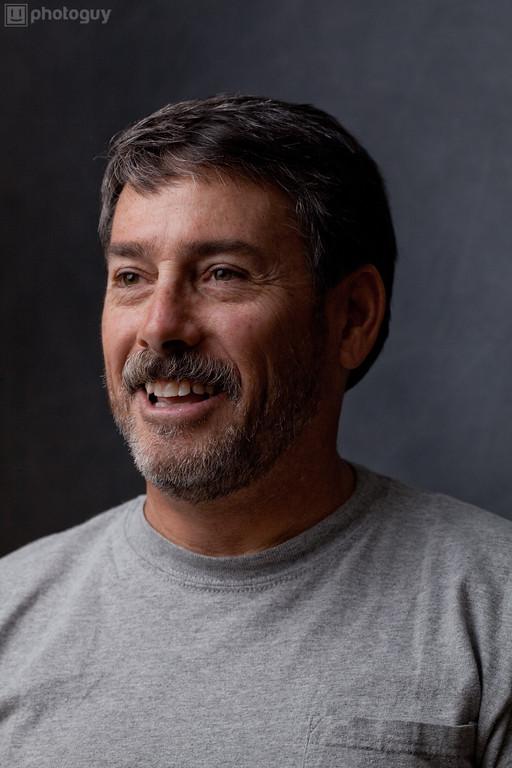 Robert in grey