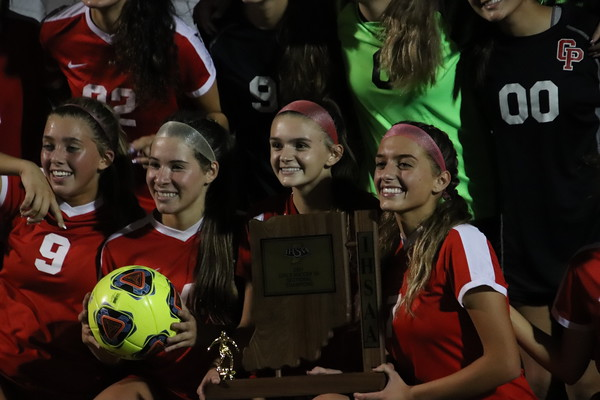 GIRLS SOCCER SECTIONALS Championships Crown Point VS Highland 2021