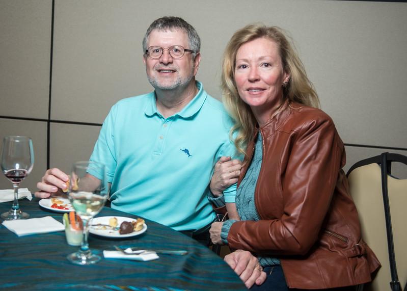 Craig Rogers (left), Victoria Rogers