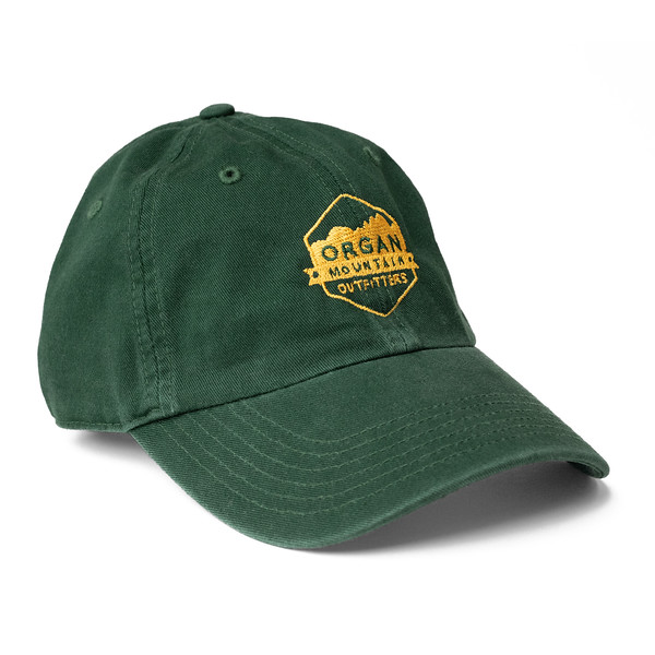 Outdoor Apparel - Organ Mountain Outfitters - Hat - Dad Cap Classic Logo - Forest Green.jpg