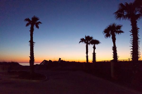 Jax Beach Sunrise, Feb 16, 2014