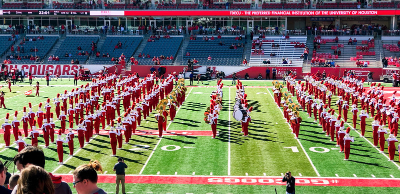 The UH Band ...