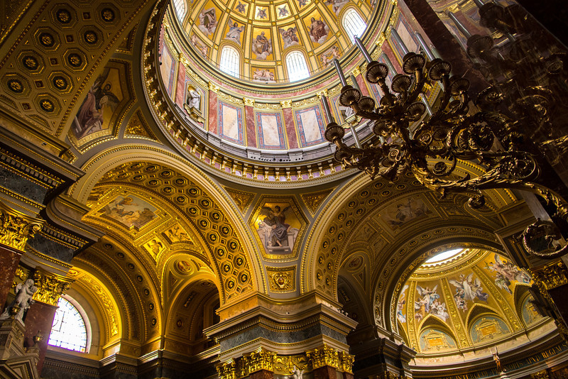 St. Istvan's Cathedral, Budapest, Hungary