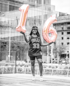 Tamia Charles 16th Birthday Shoot