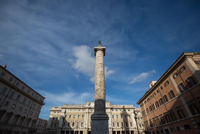 Column of Marcus Aurelius (c. 193 AD).