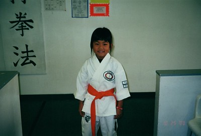 Sydney Karate Blue belt 2000