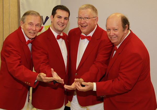The DelChordian Barbershop Quartet - June 22, 2012
