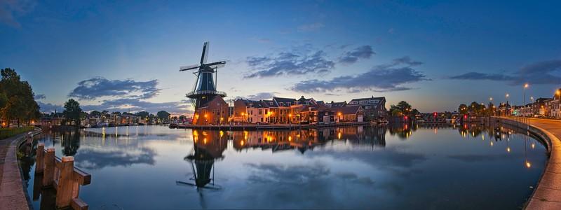 Haarlem sunrise pano