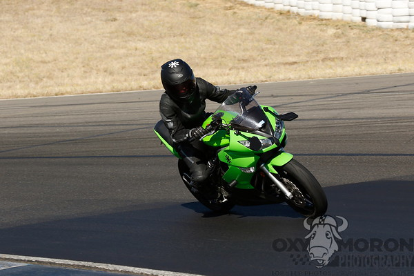 Ninja Green Black Leathers