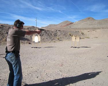 WNPL USPSA pistol match Nov. 2012