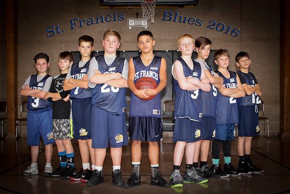 St. Francis Blues Team Photos 2016