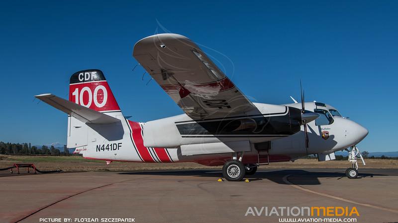 CAL Fire / Marsh Aviation S-2F3AT Turbo Tracker / N441DF