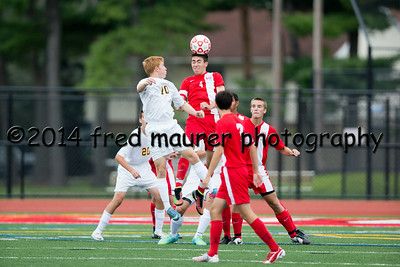 Wilson Boys vs Mt. Lebanon 8/30/2014
