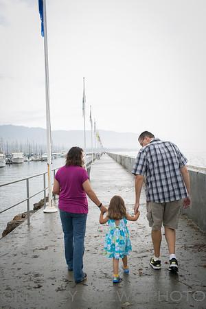 Santa Barbara Holiday Family Photo Session