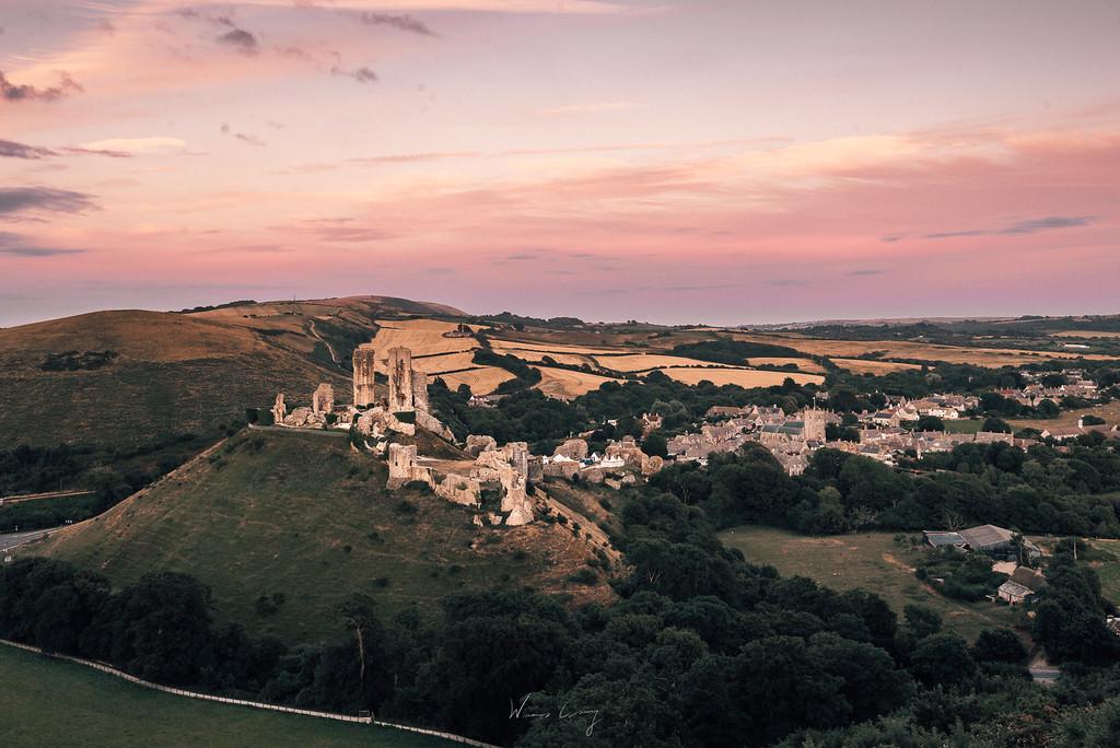 多塞特景點 Dorset 科夫城堡 Corfe Castle 侏羅紀海岸 Jurassic Coast介紹與旅行建議 by 旅行攝影師張威廉 Wilhelm Chang