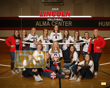 Lincoln volleyball VB19