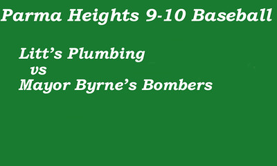 160712 Parma Heights Boy's 9-10 Baseball McMillen Game 2