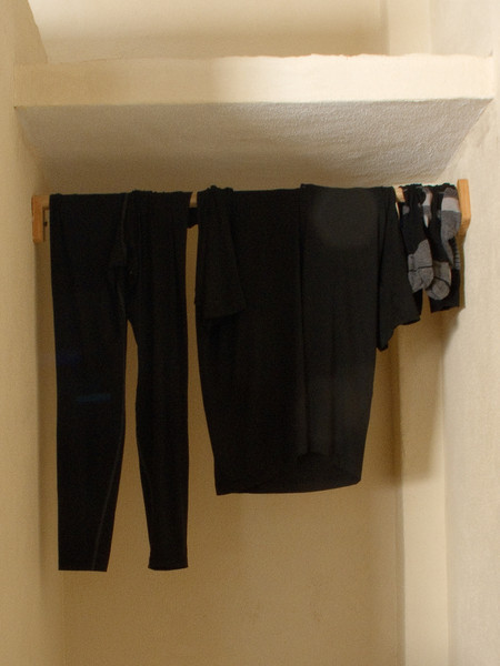 Drying the Riding Gear