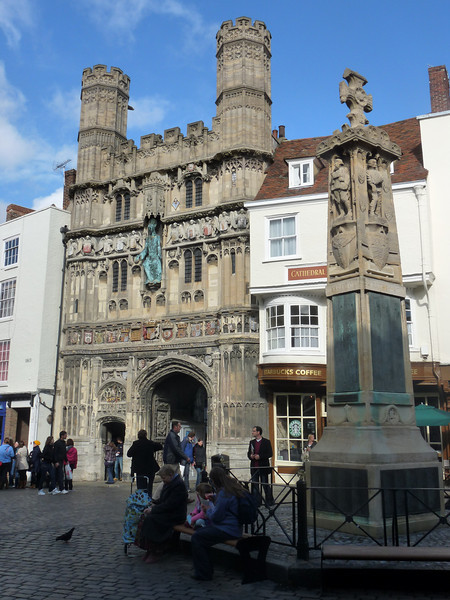 Canterbury entrance to church complex