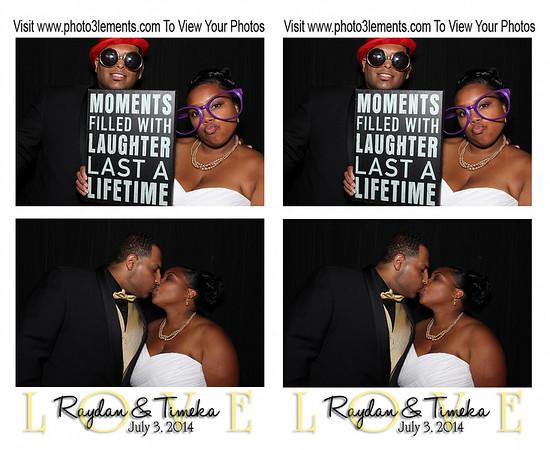 Raydan & Timeka's Wedding