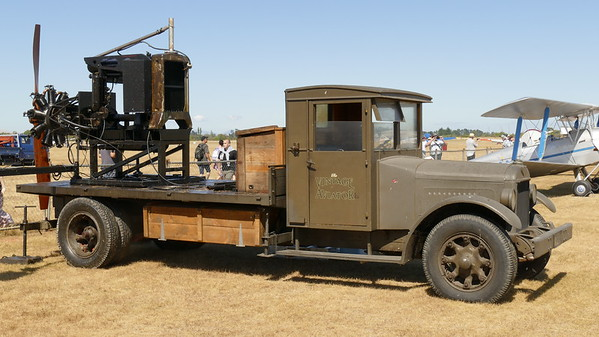 TVAL's engine test bed truck