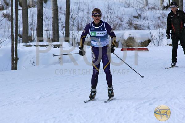 2012 Bates Winter Carnival Men's 10K Freestyle