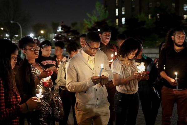 Rutgers Candelight Vigil 5/4/2015