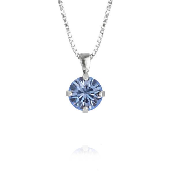 Classic Petite Necklace / Light Sapphire