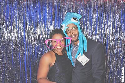 12-15-18 Atlanta Hotel Indigo Downtown Photo Booth - 2018 Holiday Party - Robot Booth