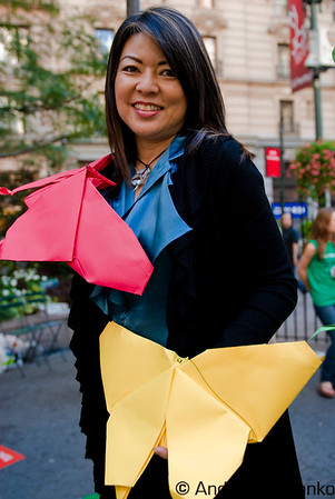 Award Winning Origami Artist Linda Tomoko Mihara www.origamihara.com