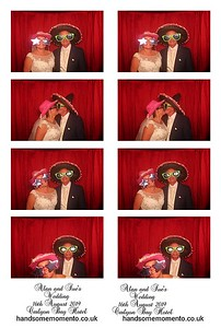 Alan and Sue's  Wedding at the Carlyon Bay Hotel 16-08-19