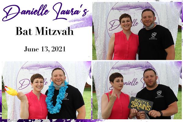 Danielle's Bat Mitzvah photo station