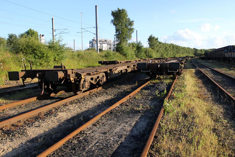4938's and 610's at Walton Old Yard, Warrington 26/06/11