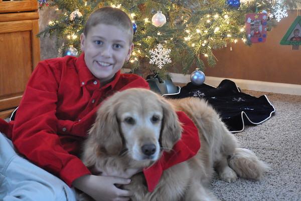 Boys & Abby Christmas 2011