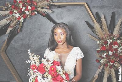 10-20-20 Atlanta Photo Booth - Georgia Wedding Circle - Robot Booth