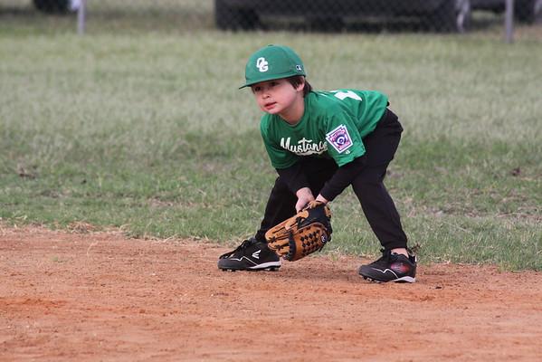 Wesley plays baseball