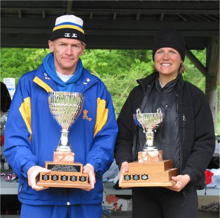 2002 Elk/Beaver Ultras - Hickey and Watson with their championship trophies