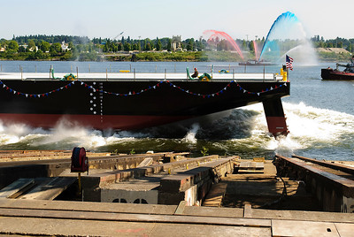 Barge Launch