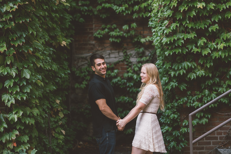 Urban Downtown Rochester New York Engagement Session Shoot Photos Pictures 025.jpg