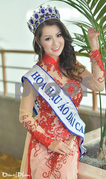 Hoa Hau Ao Dai 2019