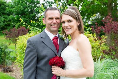 Carla and Steve's wedding