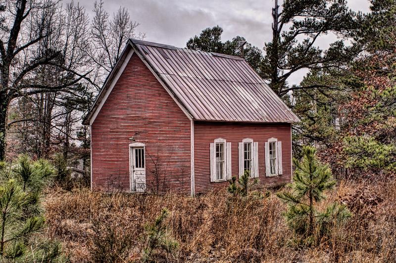 Pension Mountain School, Berryville, AR, Cabanal vicinity. ca. 1890