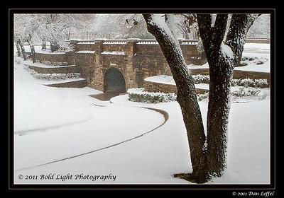 McKinney Snow Storm Jan 2011