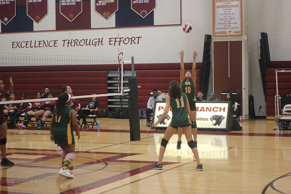 SV JV Girls Volleyball vs. Paint Branch HS 10-11-2018