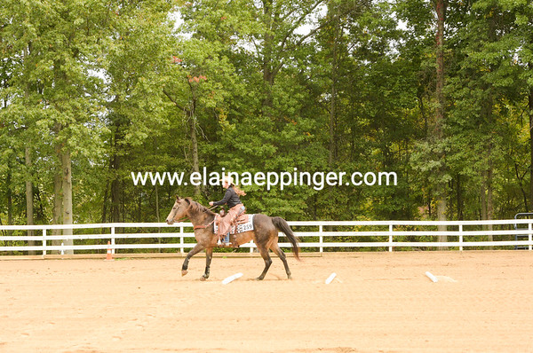 Ranchmanship Pattern Class Harlansburg October 2020