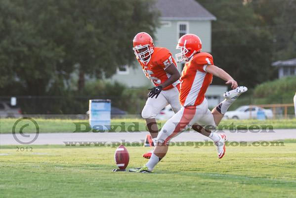 Boone Varsity Football #55 - 2012