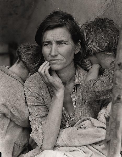 mous Photographers - Dorothea Lange