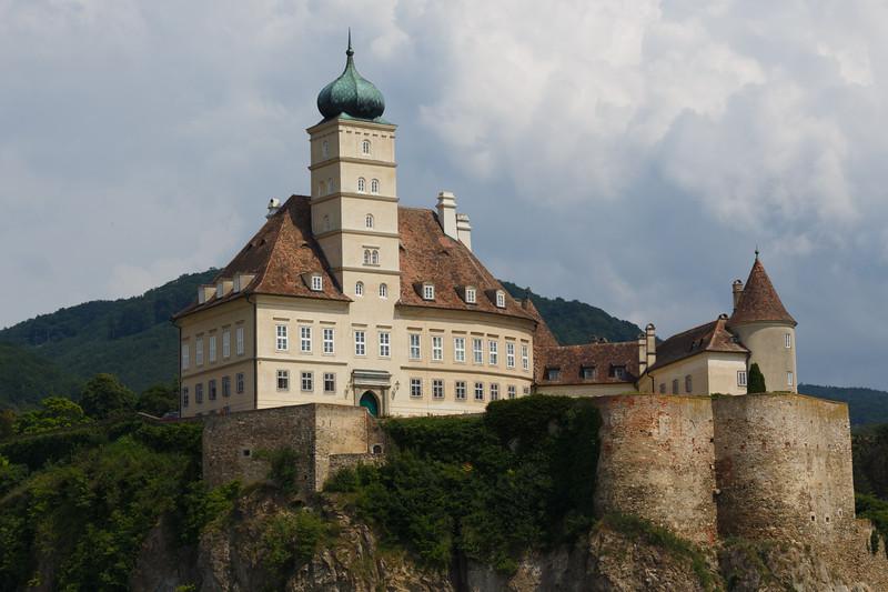 The castle Schonbuhel along the scenic Wachau valley