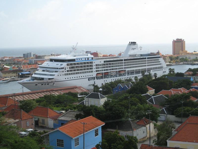 Mariner docked at Willemstad, Curacao